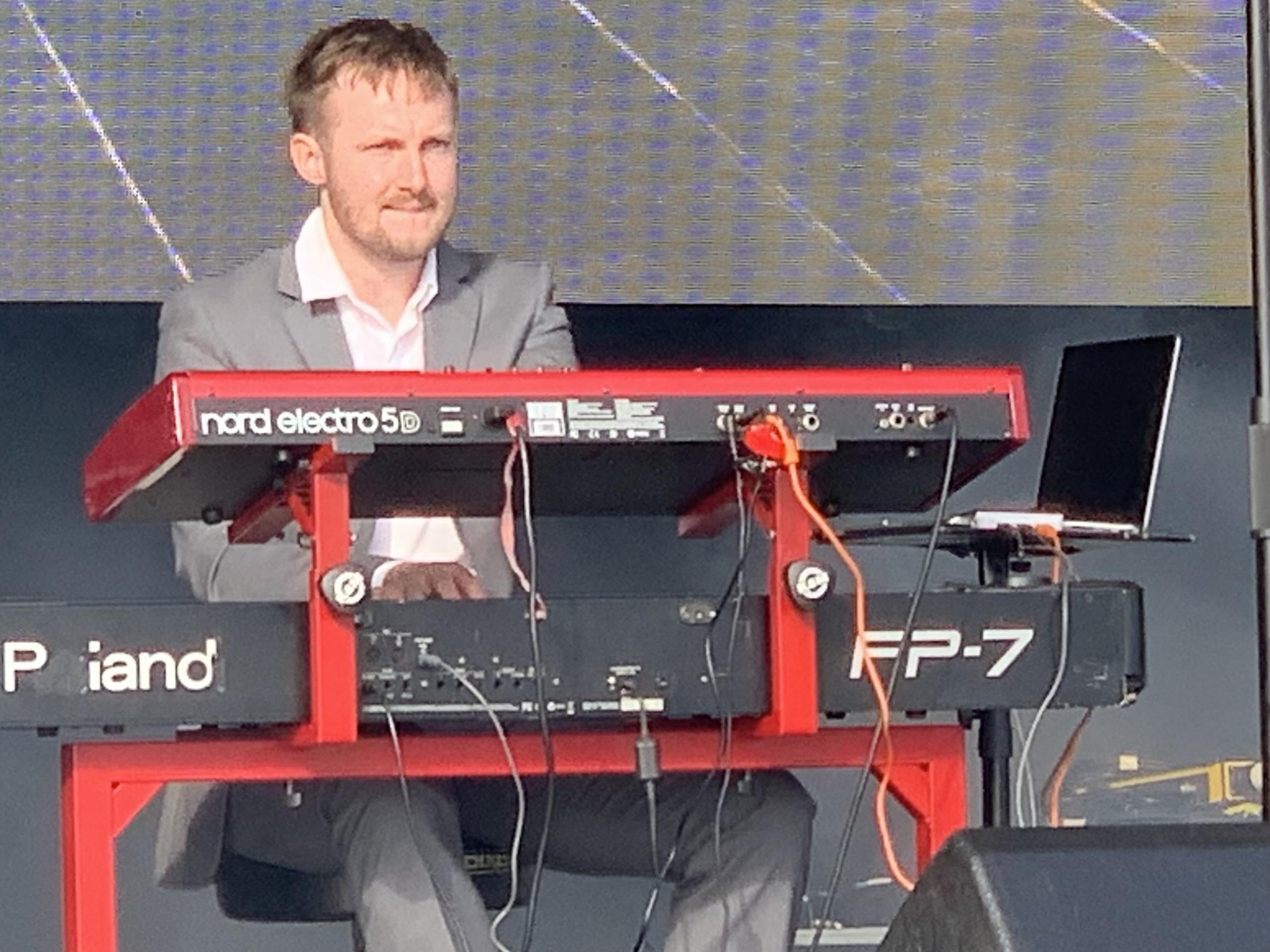 Madness Tribute Band - Los Palmas 6 - Keyboards - Sam Brown